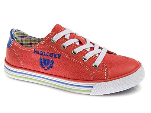 Zapatillas De Lona Niño Pablosky Rojo 962981 33
