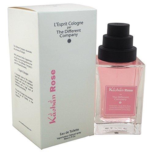 The Different Company L Esprit de Cologne Kashan Rose Eau de Toilette 90 ml, Pack de 1 (1 x 90 ml)