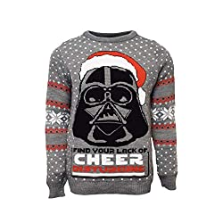 Star Wars Ugly Christmas Sweater Darth Vader Disney Gift Ideas for Adults
