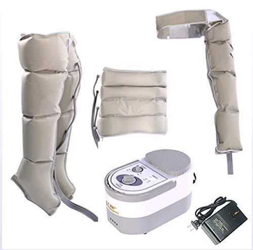 ADMLZQQ Apparecchio massaggiante per gambe, addome, Piedi braccio, Massaggiatore dell' aria Pressoterapia PressoMassaggio Kit Slim Body,Package1