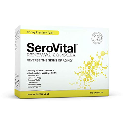 SeroVital Renewal Complex 148 Count - Serovitol-hgh for Women - Hgh Booster for Women Supplements - Human Growth Hormone Boosting Supplement for Women