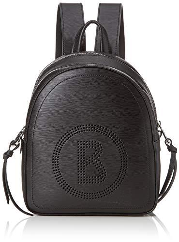 Bogner Damen Rucksack Zürs Hermine aus Leder Backpack mit Reißverschluss