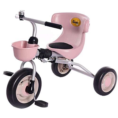 Best Price Kids Balance Bike Tricycle Children's Stroller Trike 3 Wheel Pedal Bike Multicolor Indoor...