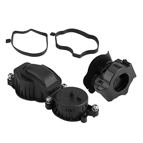 LXH-SH Kraftstofffilter Separador de válvulas de respiración de Aceite del cárter con una Junta/Sello y una Cabeza de Cilindro E46 E60 E61 E65 E66 X3 11127799225