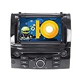 ZWNAV Andriod 9.0 Estéreo para automóvil Navegación por GPS para Peugeot 407 2004-2010 Soporte para Europa 49 CD de mapeo de país DVD Dab + WiFi Pantalla táctil de 7'