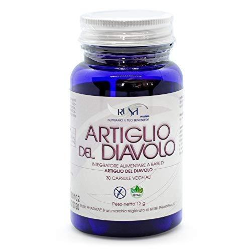 Harpagofito Garra del Diablo Fuerte Rush | Suplemento en Capsulas para el Dolor Muscular Y De Articulaciones - Antiinflamatorio Natural y Analgesico