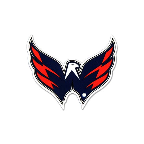 Authentic Street Signs NHL Washington Capitals Eagle Super Heavy-Duty Metal Fridge Magnets, Strong Neodymium Magnets, for Car Magnet Accessories, Refrigerator Magnets for Kids, Gifts, Home and Office