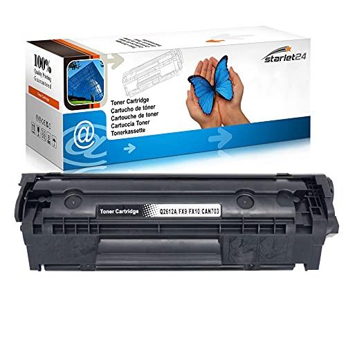 toner-mero - Tóner para HP Laserjet 1010 1012 1015 1018 1020 1022 3015 3020 3030 3050 3052 3055, color Negro 1x Toner