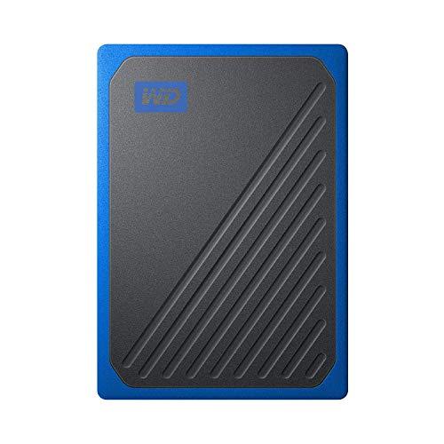 WD ポータブルSSD 2TB USB3.0 ブルー My Passport Go 外付け / 3年保証 【PS4 / Xbox Oneメーカー動作確認済】WDBMCG0020BBT-WESN