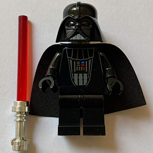 Minifigur Lego Star Wars Darth Vader mit rotem Laserschwert aus dem Set 75261 - 20 Jahre Lego Star Wars