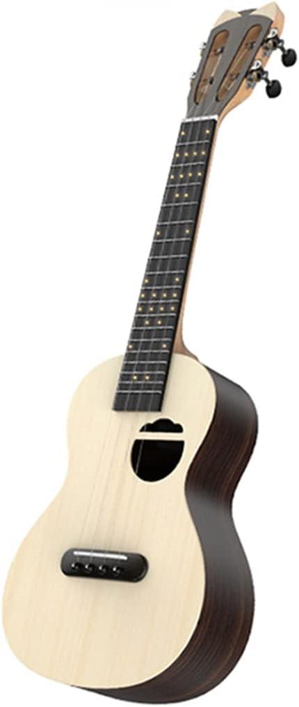 PSHH Ukeleles NiñOs con Bolsa, Ukeleles Adultos, Soprano Principiantes, Guitarra Cuatro Cuerdas,con Correa, Reemplazo Cuerdas, Folleto Instrucciones (Color : 2, Size : 23inch)