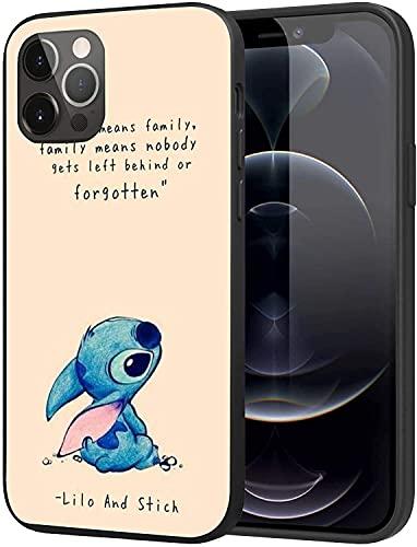 Funda para iPhone 12 Pro Max, funda delgada de moda personalizada (lilo-shich-5)
