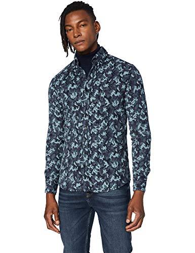 BOSS Mabsoot_1 Camisa, Dark Grey (26), S para Hombre