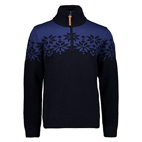 CMP M Knitted Pull 2 coupe-vent. - Bleu - 56 cm