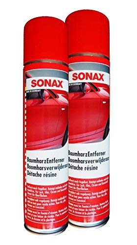Preisjubel 2 x SONAX BaumharzEntferner 400ml, Lackreiniger, Vogelkot, Harzentferner