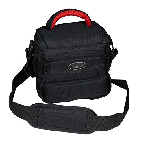 Jealiot-Custodia per fotocamera Canon PowerShot HS-Accessorio SX540 scomparto staccabile per caricabatteria, cavi e accessori