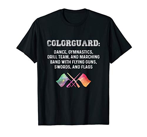 What is Colorguard - Funny Flag Toss Sports Tees for Girls T-Shirt
