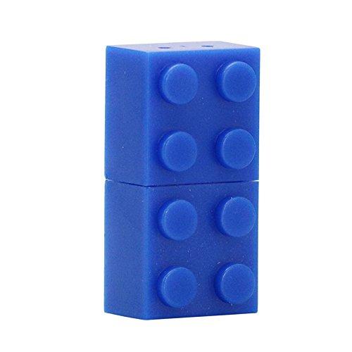 chiavetta usb lego 16GB mattoni usb flash drive blu pendrive pen drive usb flash disk usb u disco chiavetta usb flash card