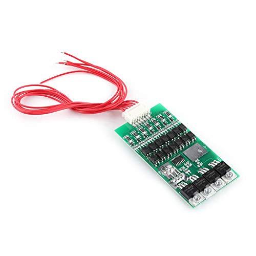 Pangding Tablero de protección de la batería, 7S 24V 20A Tablero de protección de la batería de Litio BMS con función de Equilibrio