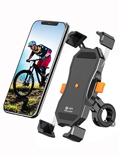 """Fahrrad Handyhalterung, Te-Rich 360°Drehbare Handyhalterung Motorrad, Anti-Shake Handyhalter Fahrrad Kompatibel mit iPhone 11/ iPhone 11 Pro/iPhone 11 Pro Max, Samsung S10 und 4.7"""" - 6.5"""" Smartphones"""