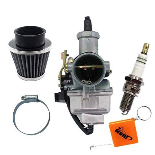 HURI Carburatore PZ30 filtro dell'aria candela di accensione per Kymco MXU 300 L60020, KXR 250, Maxxer 250 300 moto da 200 cc, 250 cc, motocross, ATV, Quad, Taotao