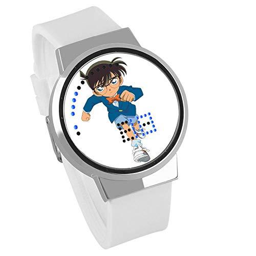 Herrenuhren,Kreative Geschenk Touchscreen Led Uhr Detektiv Conan Anime Peripher Wasserdicht Leuchtende Elektronische Uhr F