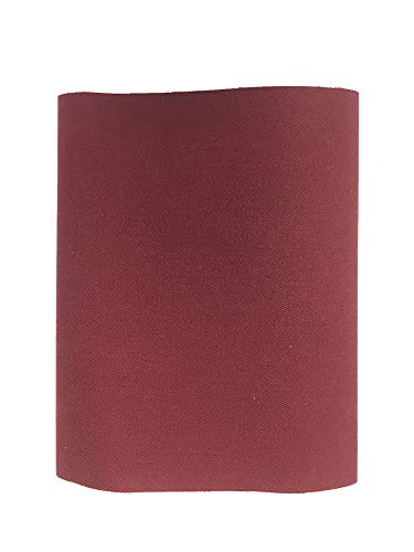 Haberdashery Online 1 Parche Termoadhesivo, Tela reparadora para pantalón. 30x9 cms (48. Granate)