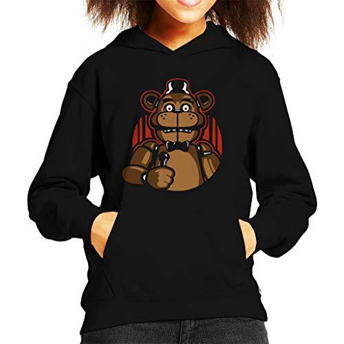 Sing with Me Five Nights at Freddys Kid's Hooded Sweatshirt
