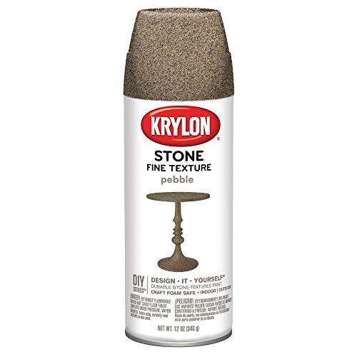Krylon K03702000 Fine Stone Textured Finish, Pebble