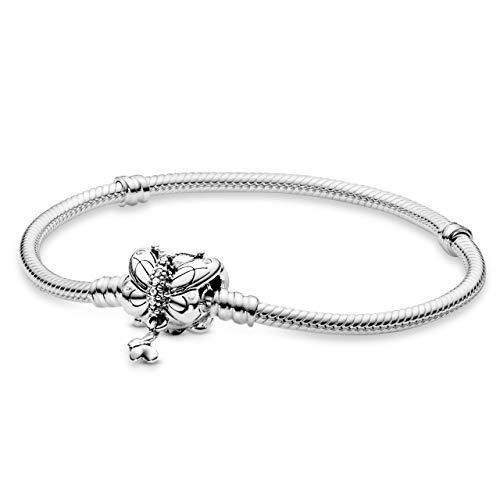 PANDORA Bracciale con Charm Donna argento - 597929CZ-18