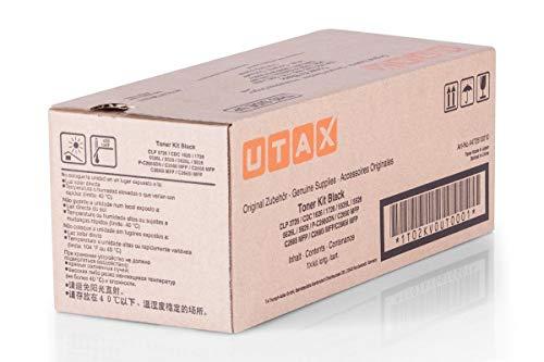 Original Utax 4472610010 / CLP3726, für P-C 2665 MFP Premium Drucker-Kartusche, Schwarz, 7000 Seiten