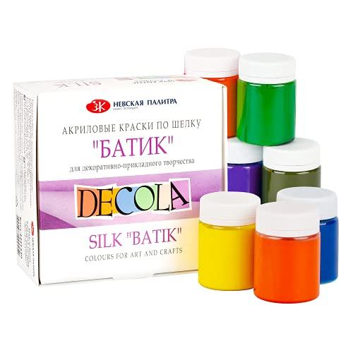 Decola   colori per tessuti   colori per tessuti permanenti   atossici e sicuri per tutti   resistenti ai lavaggi   colori tessuti permanenti   da Neva Palette