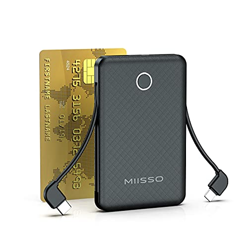 External Portable Battery Charger for Cell Phone, 6000mAh Built in...