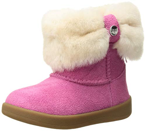 UGG Kids' Ramona Boot, Pink Azalea, 11 M US Little Kid