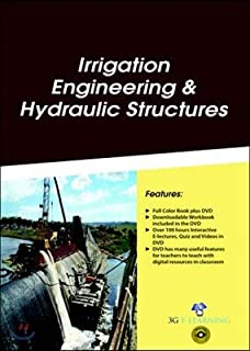 Irrigation Engineering & Hydraulic Structures (Book with DVD)