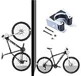 Hebilla de aparcamiento para bicicleta Gancho De Montaje En Pared Para soporte...