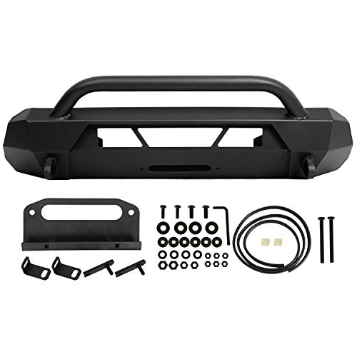 Front Bumper Guard Bull Bar W/Winch Mount Compatible with Toyota 2016-2020 Tacoma 4x4