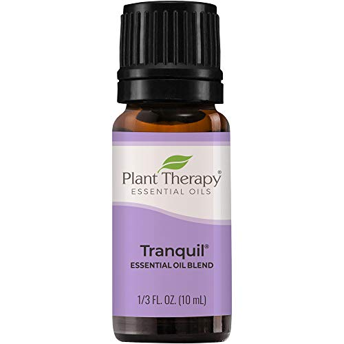 Plant Therapy Tranquil Essential Oil Blend - Stress Relief, Sleep, Peace & Calming Blend 100% Pure, Undiluted, Natural Aromatherapy, Therapeutic Grade 10 mL (1/3 oz)