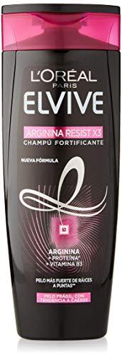 L'Oreal Paris Elvive Arginina Resist X3 kräftigendes Shampoo für brüchiges Haar, mit Trend A Caerse, 285 ml