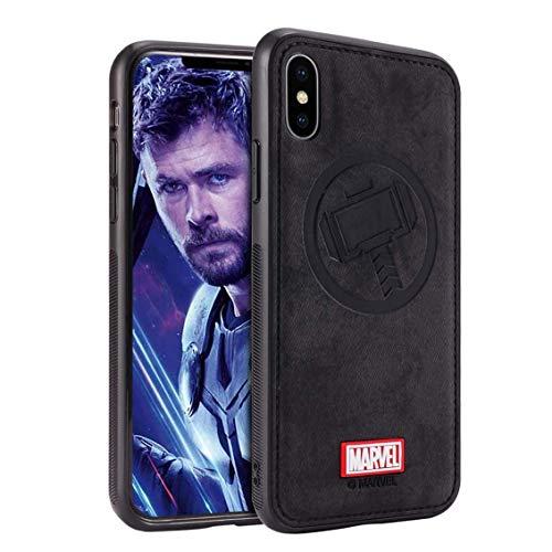TinPlanet Marvel Avengers Hülle für Google Pixel 3A, Thor (Schwarz)