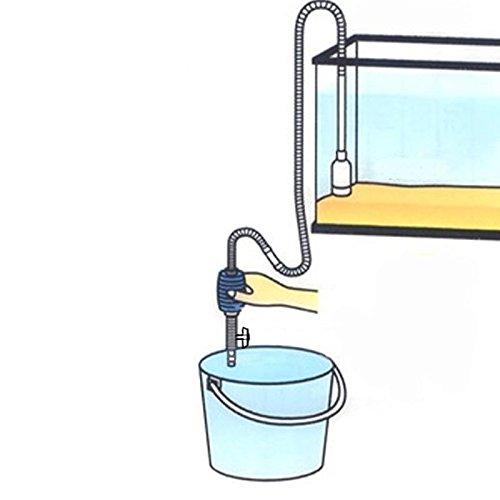 Fish Food Supplies | Kangkang@ 195cm Aquarium Fish Tank Gravel Cleaner Filter Siphon Vacuum Hose Pipe Aquarium Cleaner Fish Tank Cleaner with Valve Size L, Gym exercise ab workouts - shap2.com