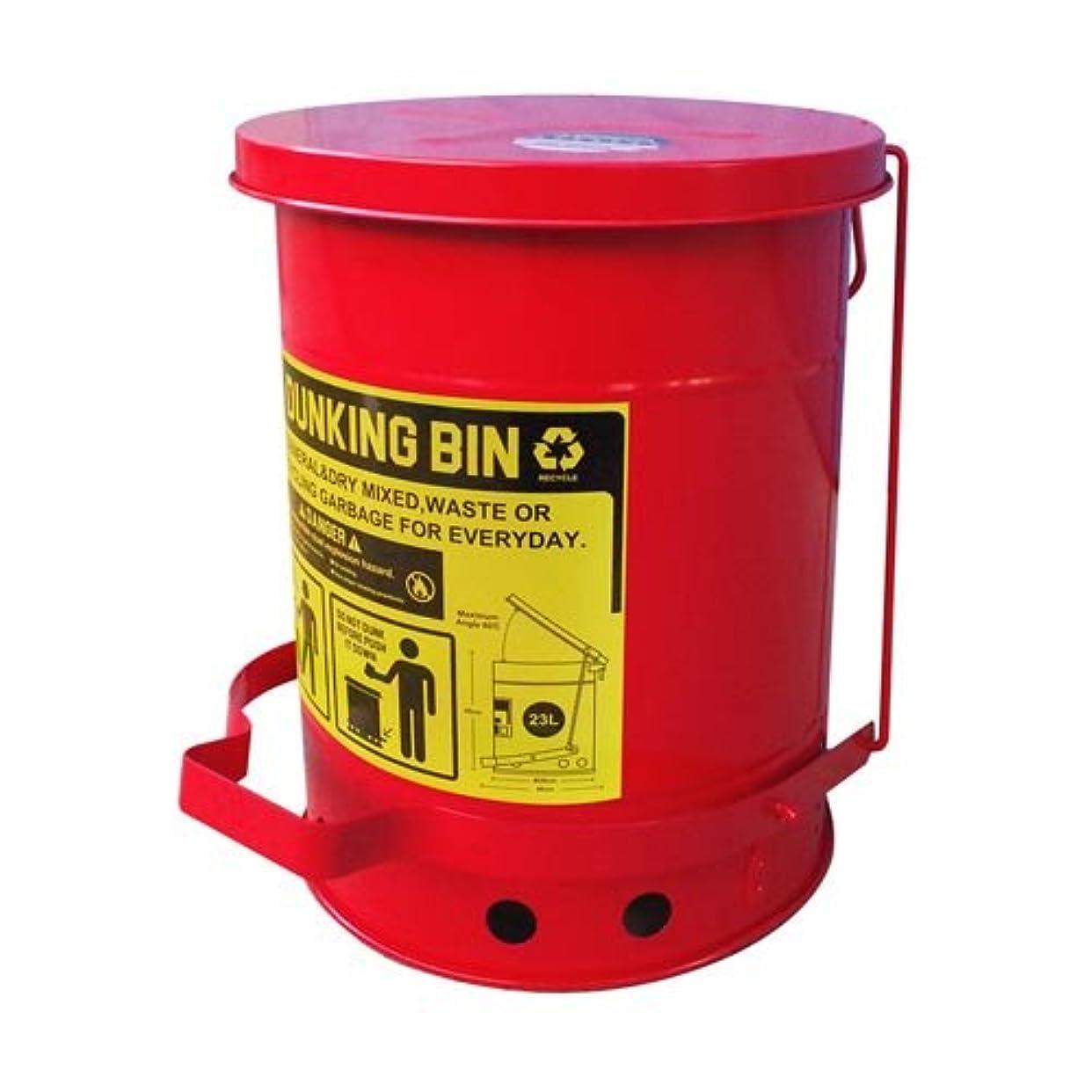 気味の悪い変更やりすぎダストビン ダストボックス DUNKING BIN RED