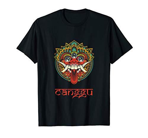 Canggu Bali Balinesische Hindu Barong Maske Animismus T-Shirt