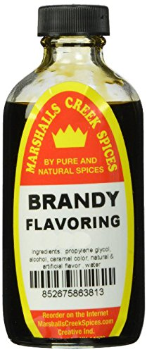 Marshalls Creek Spices (st26) BRANDY FLAVORING 8 oz