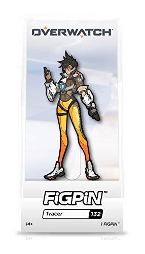 FiGPiN Overwatch: Tracer - Broche colecionável com caixa de exibição premium Tracer