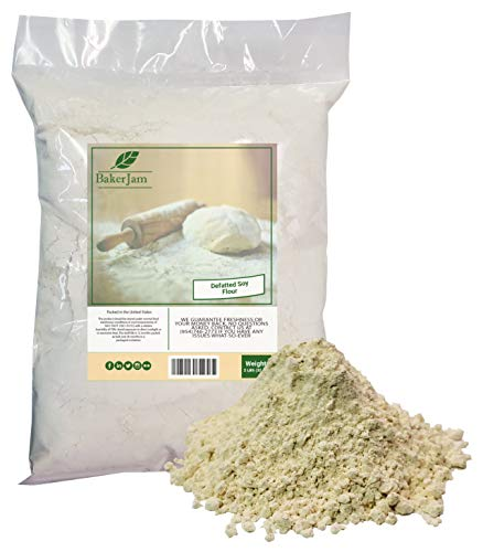 DEFATTED Soy Flour 2 Pounds Bulk Bag-Made in USA
