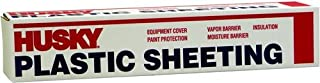 Husky Plastic Sheeting Clear 6ml 10ft x 100ft