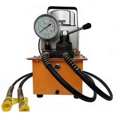 Une pompe électrique hydraulique gowe doppelbetätigung 70Mpa, low 2,5 bar
