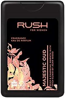 RUSH For Women - Majestic Oud - Eau De Parfum - Pocket Perfume - 75% Alcohol - For Women - 16 Ml