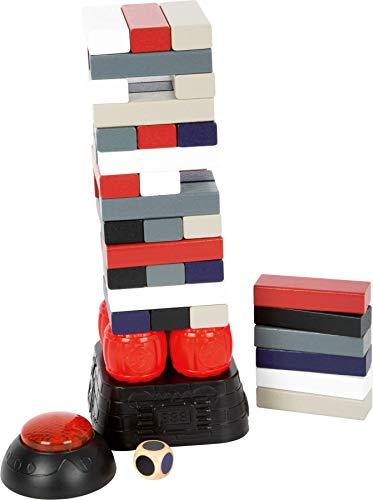 Small Foot by Legler Small Foot 11863 - Torre oscillante Dynamit, con Base Vibrante, con Timer Regolabile per Grandi e Piccoli, a Partire da 3 Giocattoli